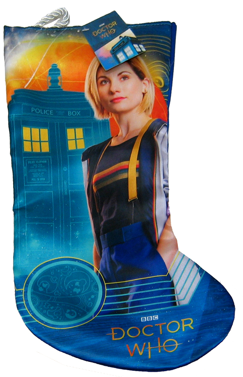 Doctor Who 13th Doctor Jodie Whitaker Stocking