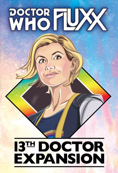 Doctor Who Fluxx 13th Doctor Expansion Pack