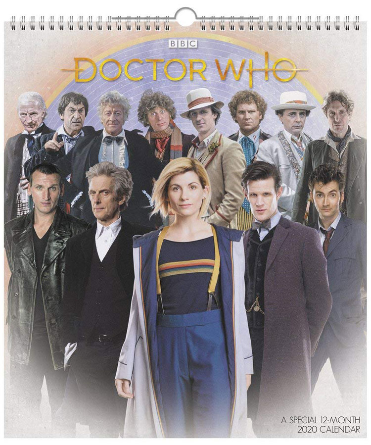 Doctor Who 12-Month Special 2020 Calendar
