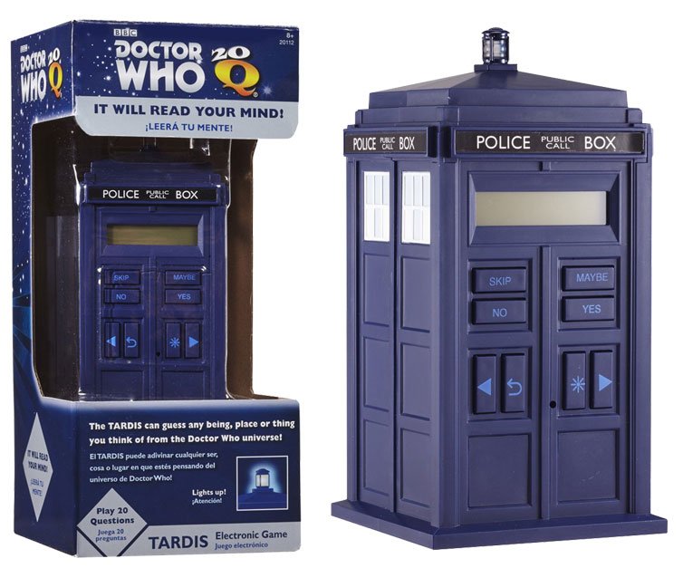 Doctor Who TARDIS 20 Questions Game