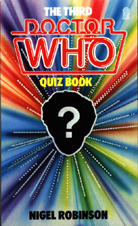 The 3rd Dr Who Quiz Book