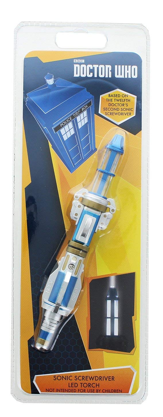 12th Doctor's Sonic Screwdriver LED Torch, Second Version
