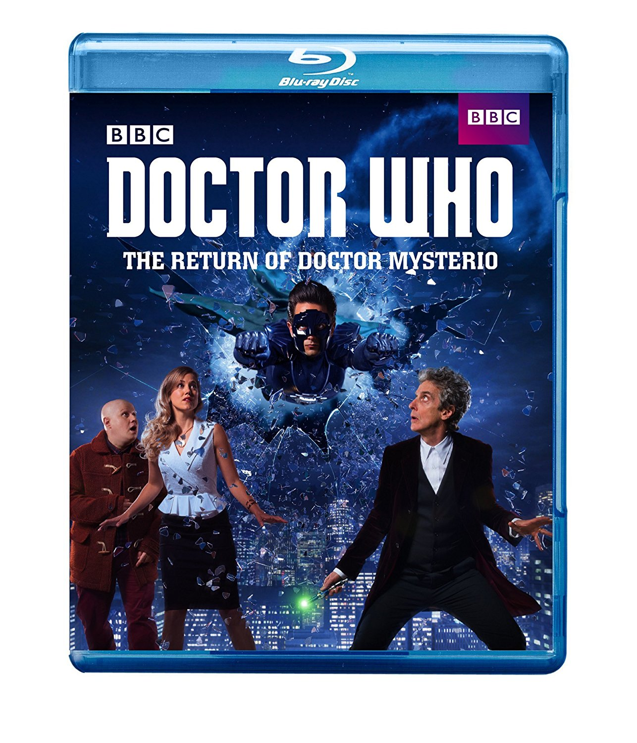The Return of Doctor Mysterio: Blu-Ray
