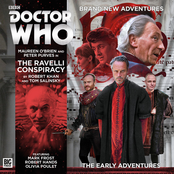 Doctor Who Early Adventures 3.03: The Ravelli Conspiracy