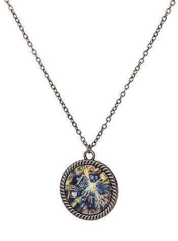 Doctor Who Exploding TARDIS Pendant Necklace