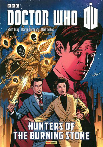 Doctor Who: Hunters of the Burning Stone (Graphic Novel)