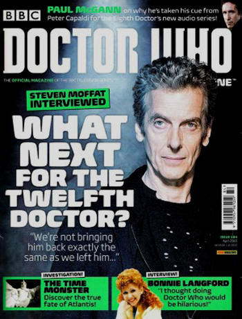 Doctor Who Magazine, Issue 484