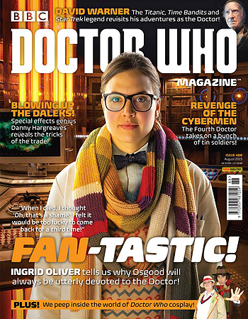 Doctor Who Magazine, Issue 488
