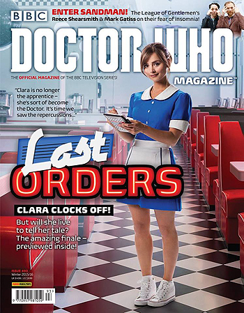 Doctor Who Magazine, Issue 493