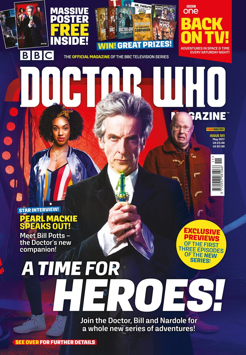 Doctor Who Magazine, Issue 511