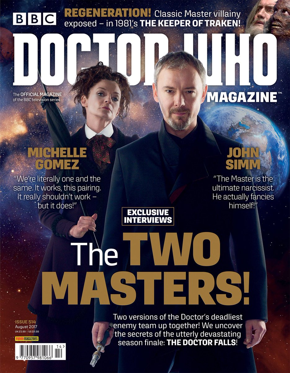Doctor Who Magazine, Issue 514