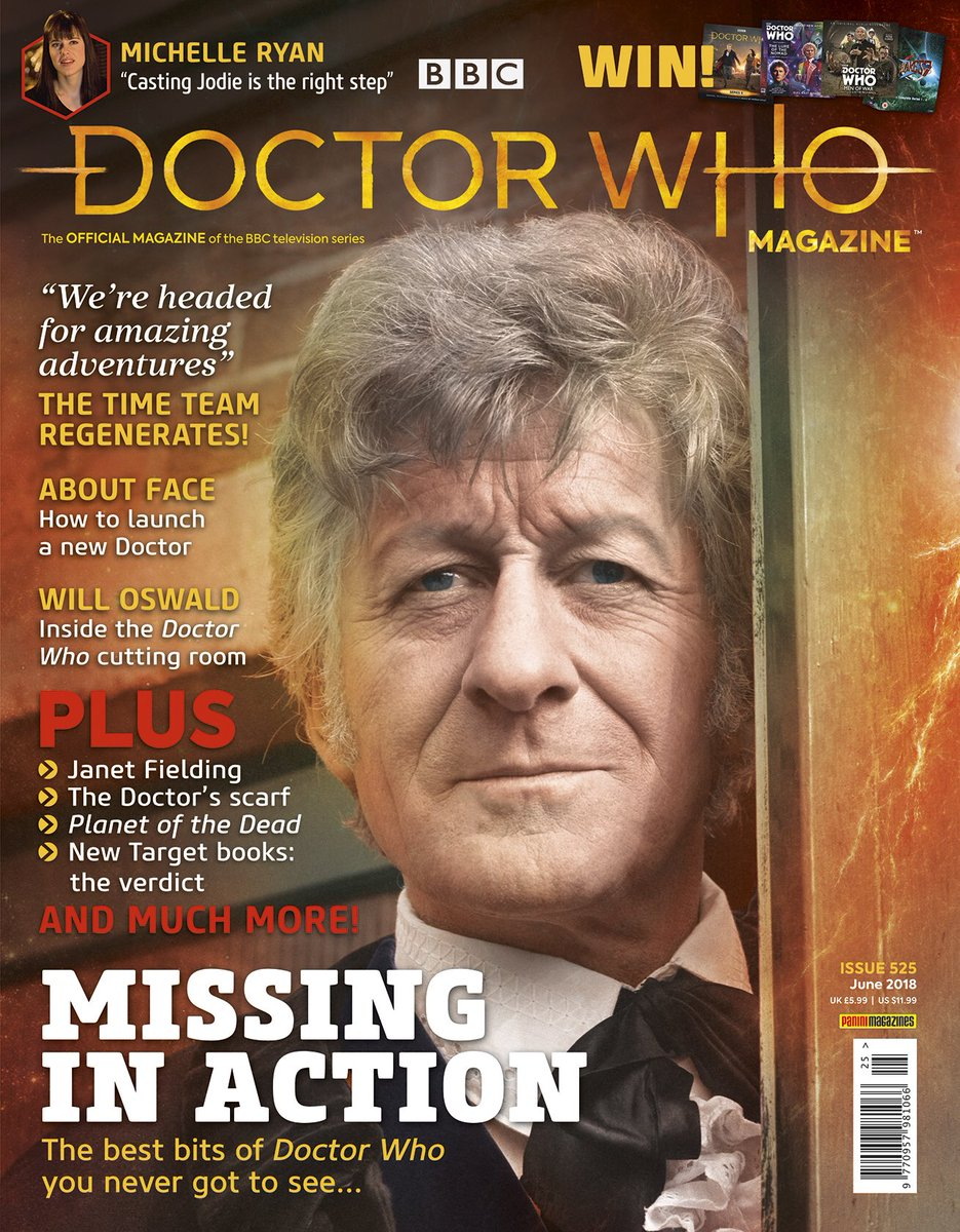 Doctor Who Magazine, Issue 525