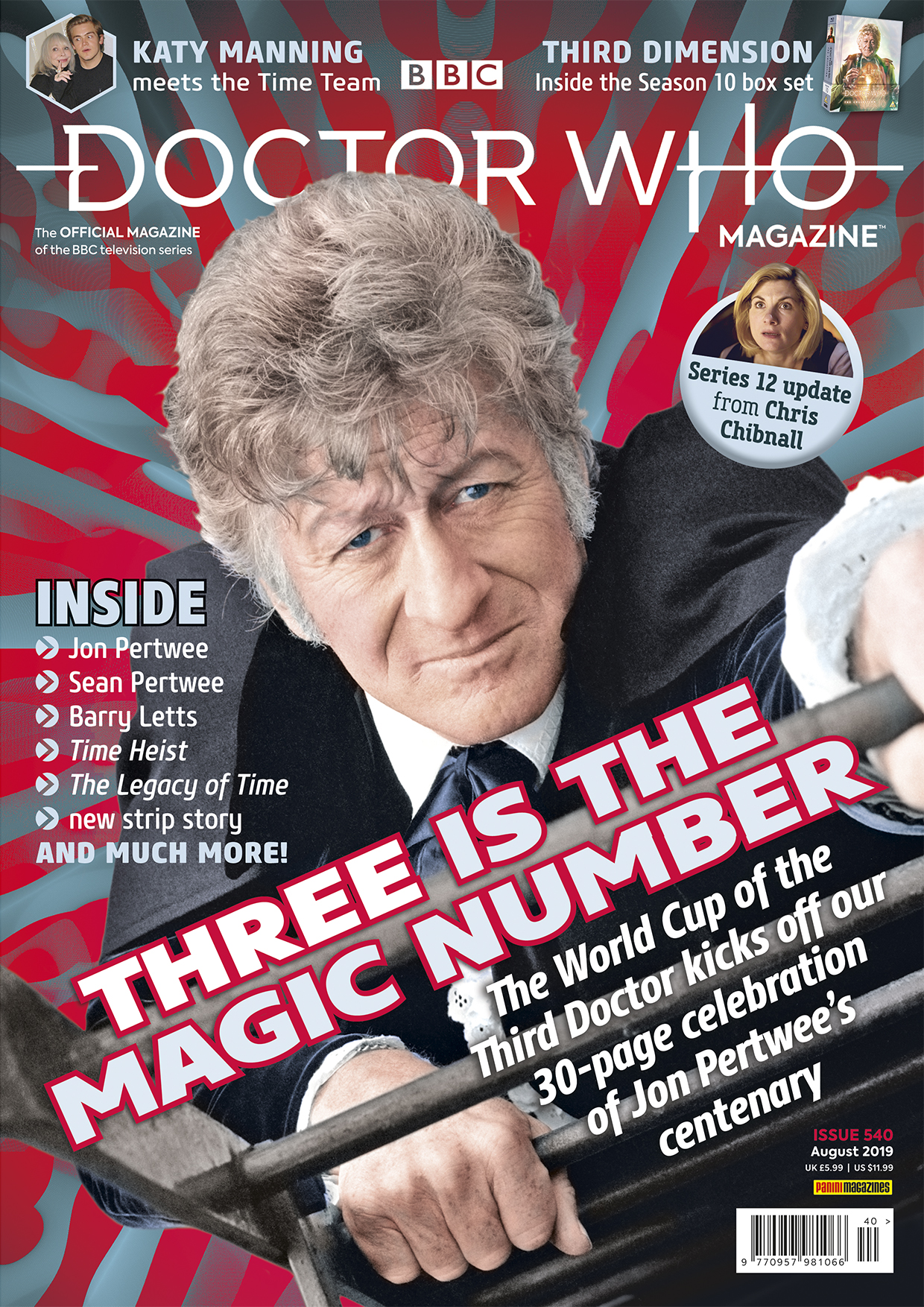 Doctor Who Magazine, Issue 540