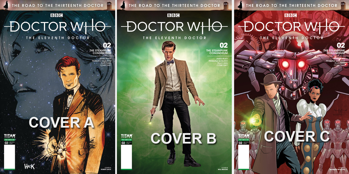 Doctor Who Comic: The Road to the 13th Doctor, Issue 2