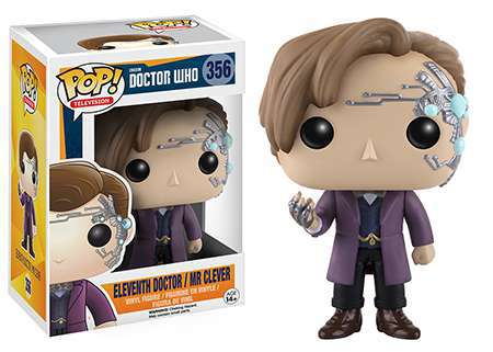 FUNKO Pop! #356 Doctor Who: 11th Doctor/Mr. Clever