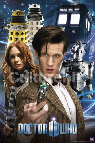 Doctor Who Poster: Matt Smith Doctor Who Collage