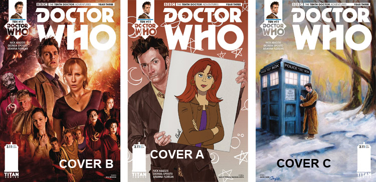 Doctor Who Comic: Tenth Doctor, Year 3, Issue 11