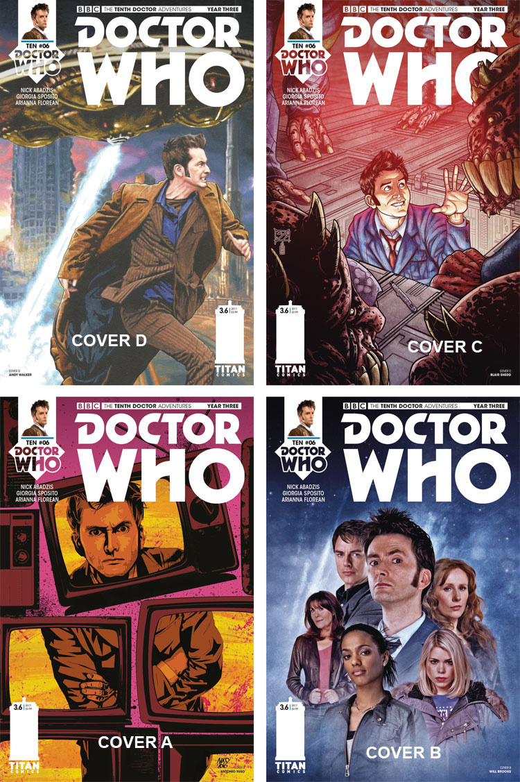Doctor Who Comic: Tenth Doctor, Year 3, Issue 06