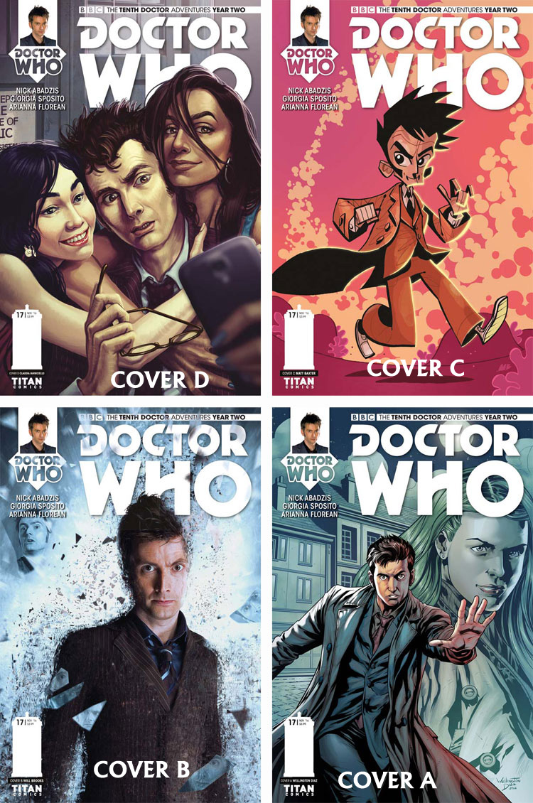 Doctor Who Comic: Tenth Doctor, Year 2, Issue 17