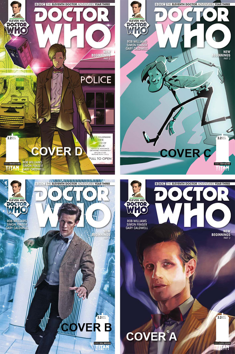 Doctor Who Comic: Eleventh Doctor, Year 3, Issue 02