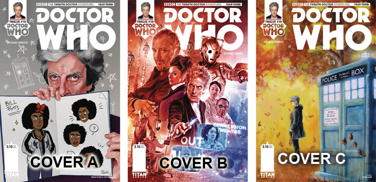 Doctor Who Comic: Twelfth Doctor, Year 3, Issue 10