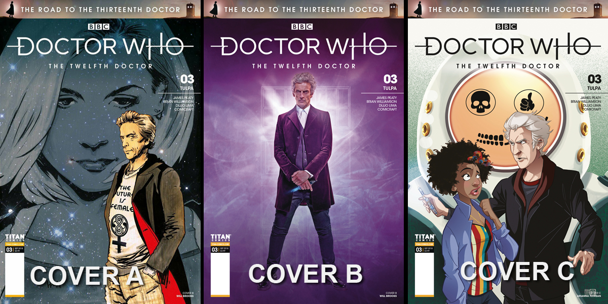 Doctor Who Comic: The Road to the 13th Doctor, Issue 3