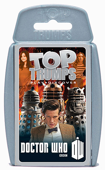 Top Trumps Doctor Who Deck (Gray)