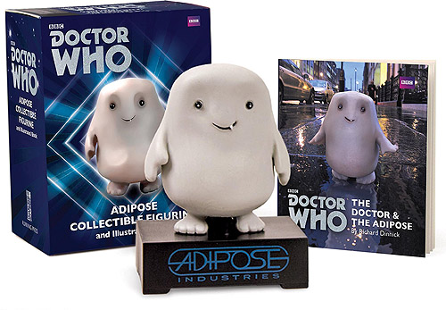 Adipose Collectible Figurine and Illustrated Book