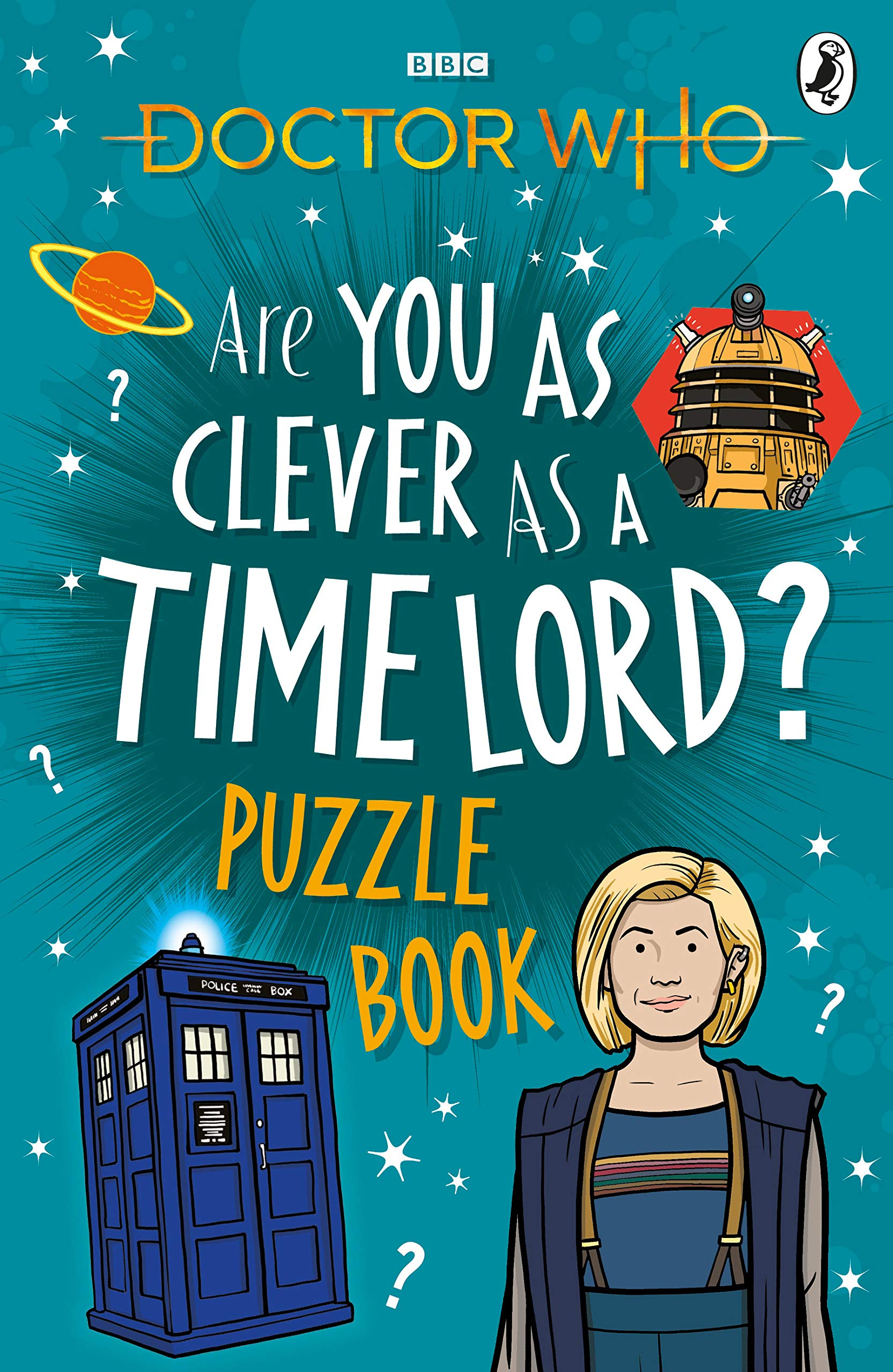 Doctor Who: Are You as Clever as a Time Lord? Puzzle Book