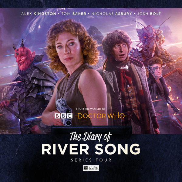 Doctor Who: The Diary of River Song, Series 4 (CD Set)