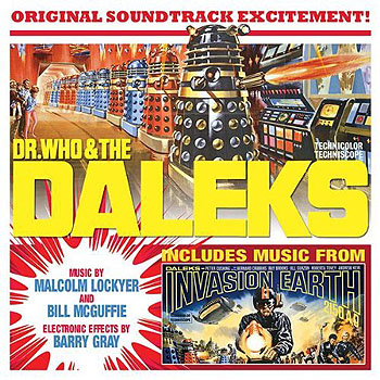 Dr. Who and the Daleks CD Soundtrack