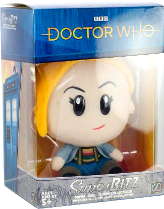Doctor Who SuperBitz 13th Doctor Plushie