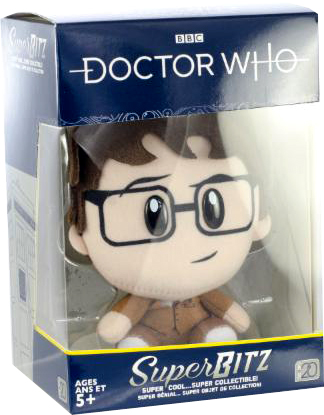 Doctor Who SuperBitz 10th Doctor Plushie