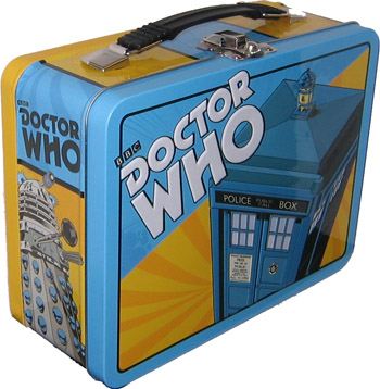 Doctor Who Lunch Box Tin Tote