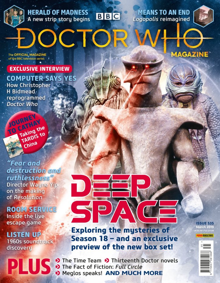 Doctor Who Magazine, Issue 535