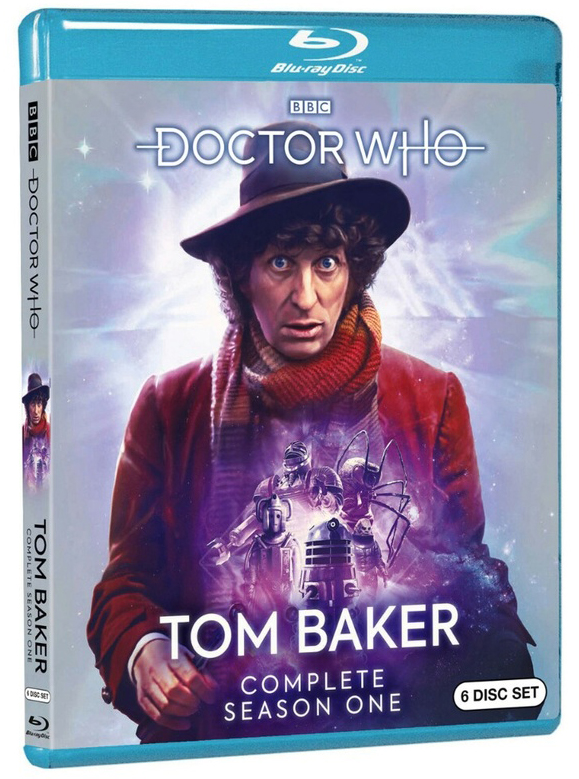 Blu-ray: Doctor Who Tom Baker, Season 1