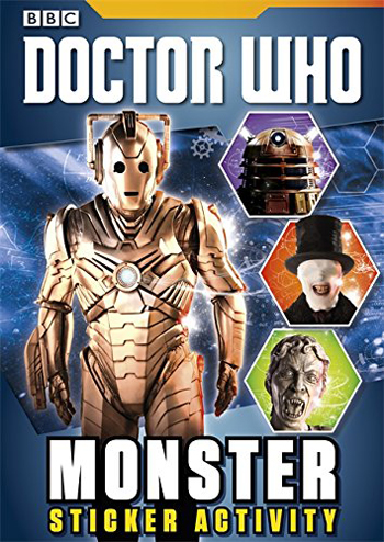 Doctor Who Monster Sticker Activity