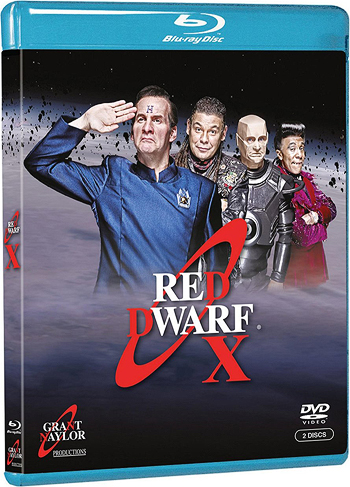 Red Dwarf Blu-Ray Series 10