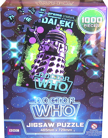 Doctor Who Retro Puzzle: The Dalek
