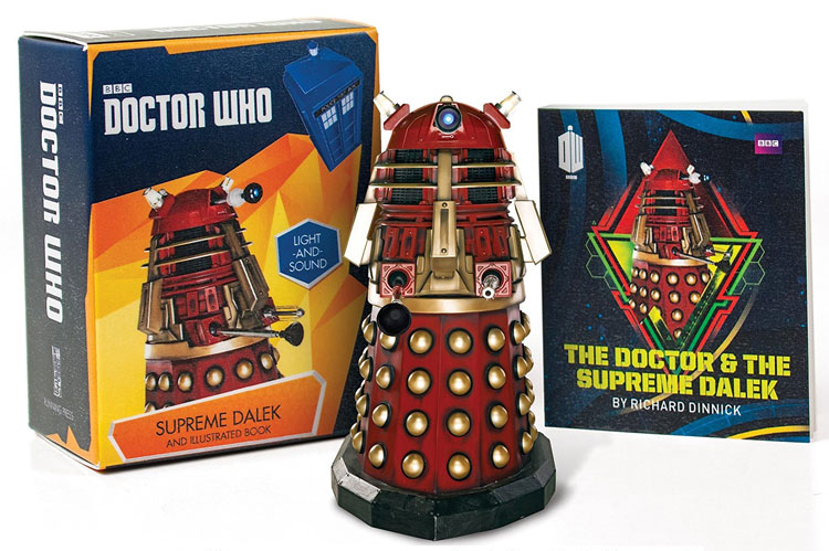 Supreme Dalek and Illustrated Book