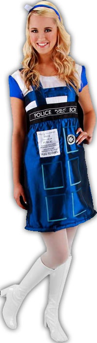 TARDIS Costume Dress