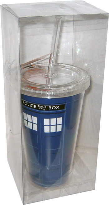 Doctor Who TARDIS Lidded Tumbler