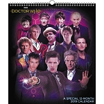 Doctor Who 12-Month Special 2019 Calendar