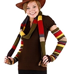 4th Doctor Scarf Themed Arm Warmer