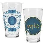 Doctor Who Series Eleven 16 oz. Glass Set of 2