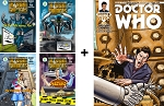 Peregrin Chronicles (Issues 1-4) + Doctor Who 10th Doctor Year 2, Issue 13 (Autographed)