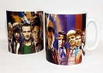 Eleven Doctors Collage Mug
