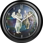 Lenticular Weeping Angel Wall Clock