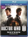 Day of the Doctor: Blu-Ray, 3-D, DVD Combo