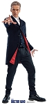 Standee: Twelfth Doctor, Peter Capaldi (Shipping Included in Price) - CONTINENTAL USA ONLY